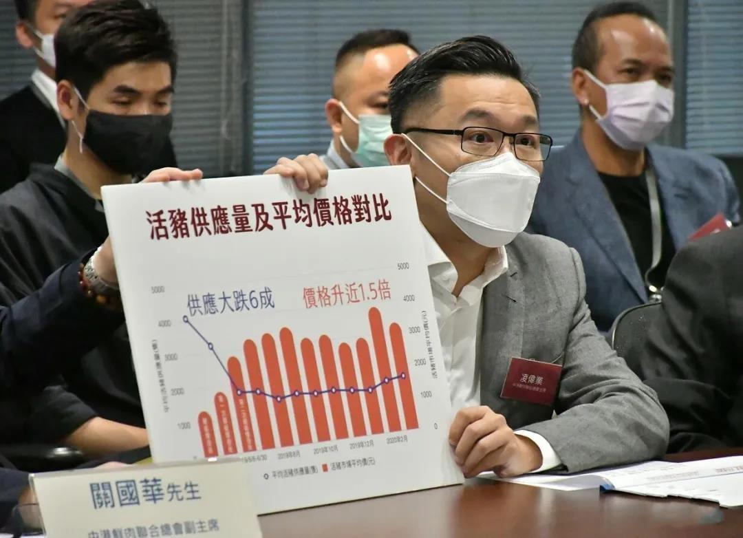 因非洲猪瘟供港活猪跌6成,香港猪肉价格飙升近1.5倍
