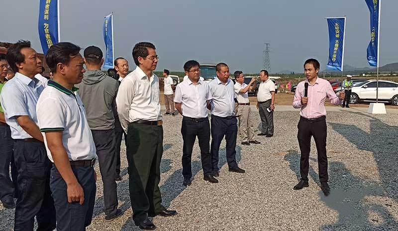 海南昌江:白山马生猪繁育基地项目开工