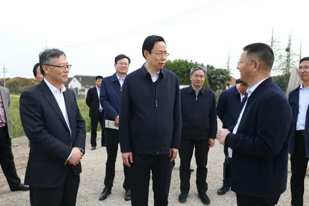 江苏省委常委、苏州市委书记蓝绍敏调研德康集团常熟项目