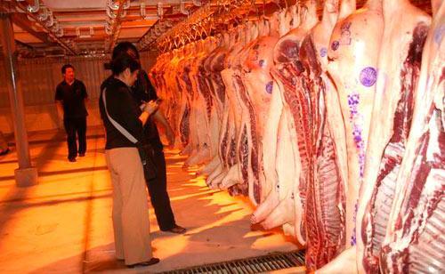 温州市新增一家猪肉批发中心