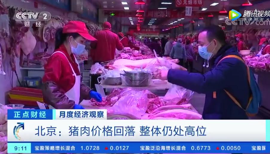 月度数据观察 | 北京猪肉价格回落,整体仍处高位