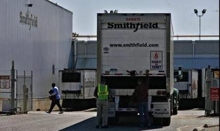 美国最大猪肉加工厂