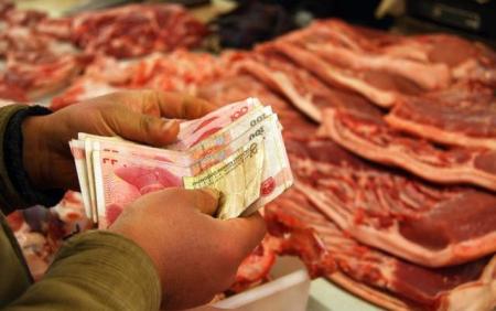 重庆猪肉降价了,一斤最高降了近2元