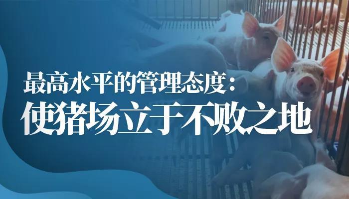 邵国青:最高水平的管理态度 使猪场立于不败之地