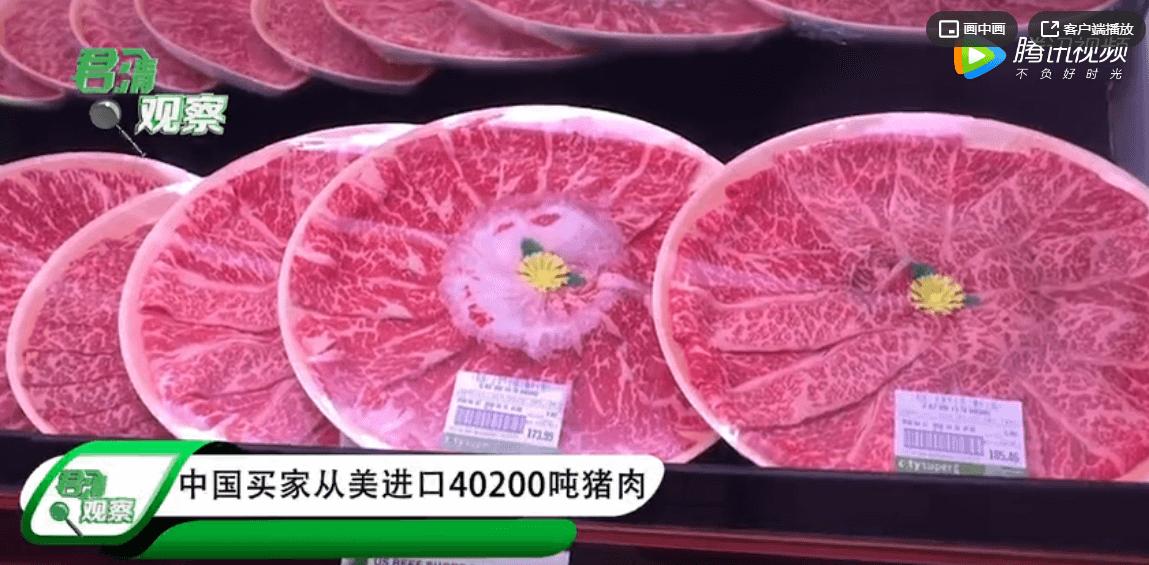6个月来最大单,美国数百万头生猪被安乐死,中国发出40200吨猪肉订单