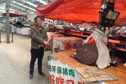 肉太贵起歪念?辽宁丹东一猪肉摊被盗,价值约300元排骨不翼而飞