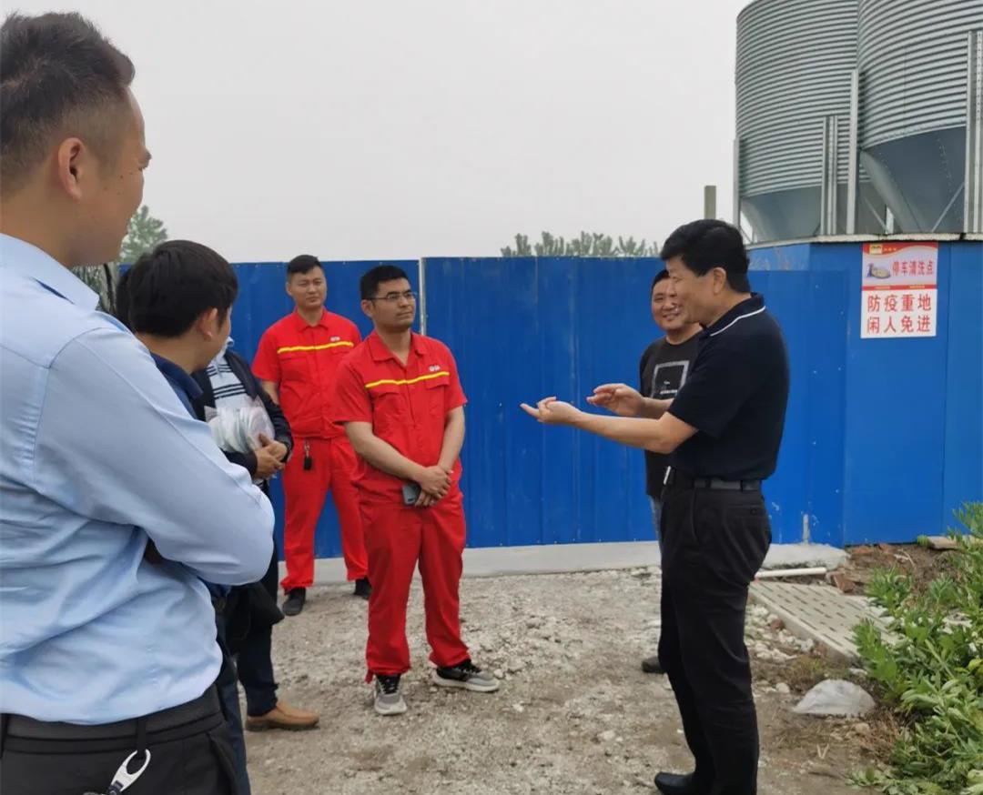 双胞胎董事长江苏行:鼓励养户养种猪
