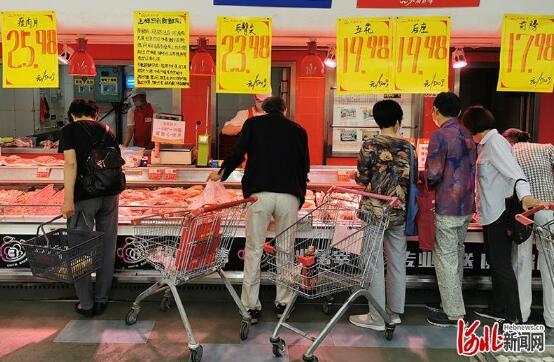 河北:降价了!一个多月内鲜猪肉平均批发价下降9%
