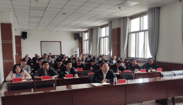 甘肃:庄浪县组织收看全市非洲猪瘟防控工作推进视频会议