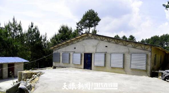黄平县石头堡村:发展生猪养殖 拓宽群众致富路