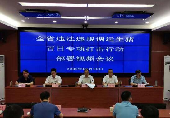 陕西:安排部署违法违规调运生猪百日专项打击行动