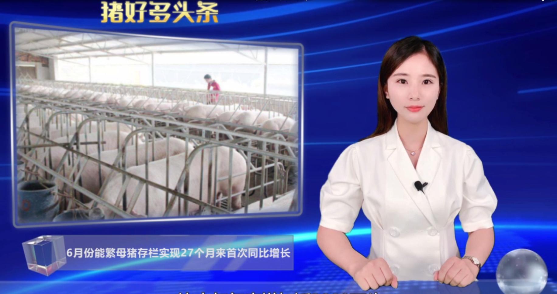 产能恢复势头良好!能繁母猪存增长,生猪存栏增加近3000万头