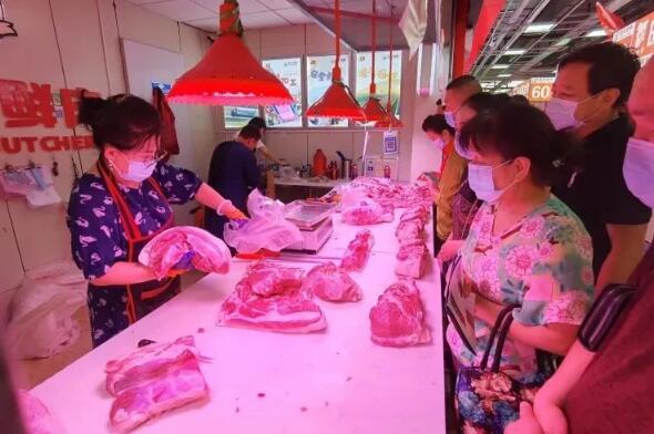 山西:猪肉又涨价了?太原猪肉价反弹,储备冻猪肉投放市场