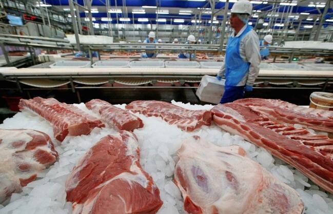 俄罗斯上半年猪肉进口量仅为1000吨,同比下降98%