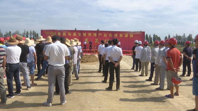 江西:南昌牧原生猪养殖产业化体系项目开工奠基仪式在南昌县举行
