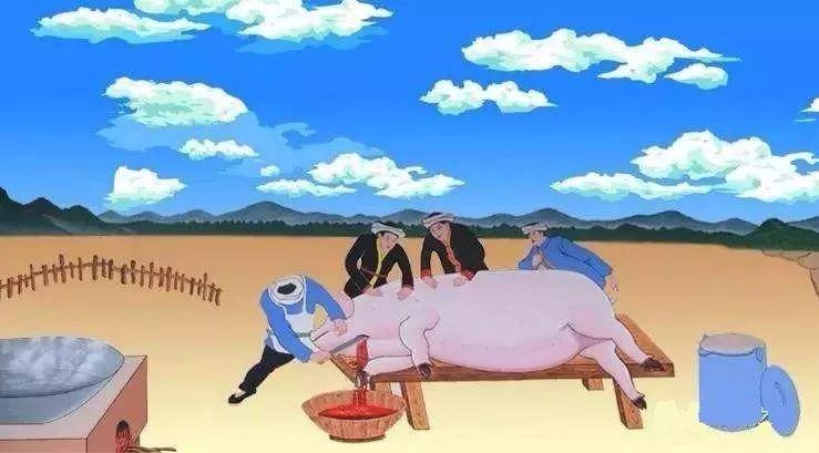"""散养猪屠宰量几乎为0,这个县生猪私屠偷宰泛滥,大量""""低价猪""""充斥市场"""