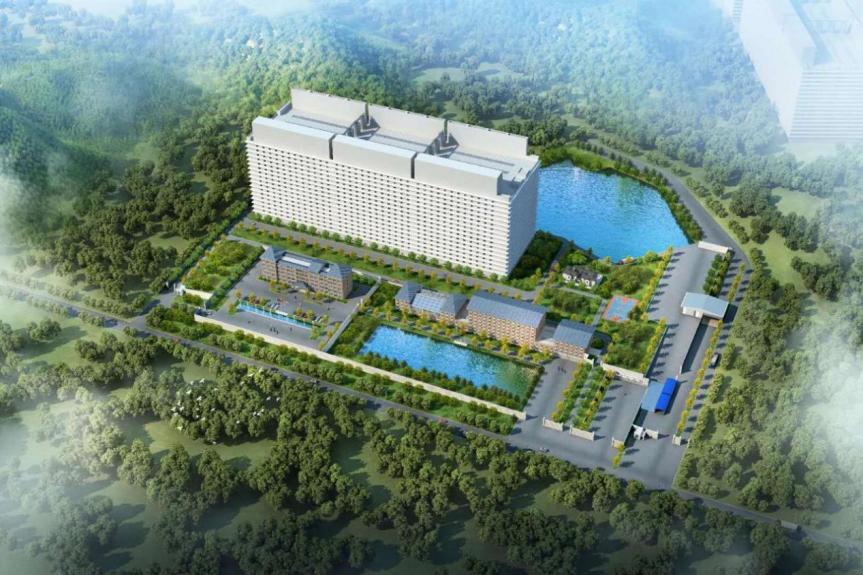 疯了!湖北水泥公司投建26层高楼养猪项目,将年出栏60万头