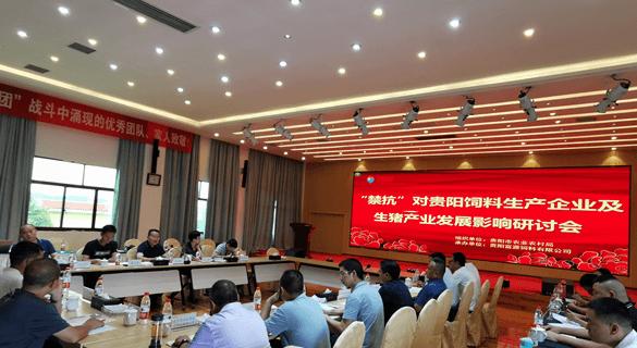 """贵阳市举行""""饲料禁抗""""对饲料生产企业及生猪产业发展影响研讨会"""