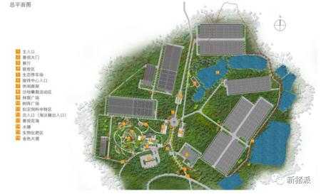 广州北欧农场平面规划图