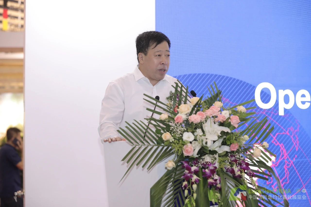 全国畜牧总站副站长杨劲松