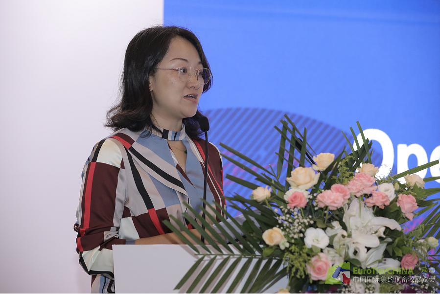德国农业协会中国首席代表张莉