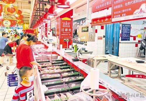 国家统计局公布8月份全国猪肉价格环比上涨1.2%,梅州肉市情况如何?