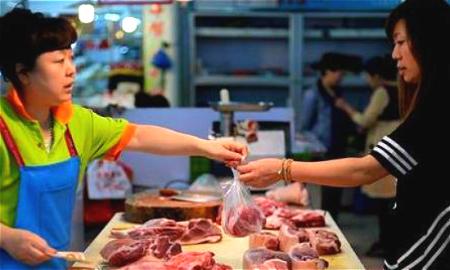 猪肉价格小幅回落 双节临近销量上涨