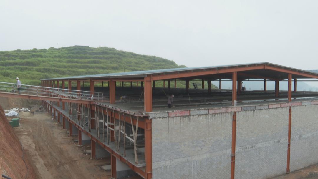两幢三层高的生猪养殖厂房拔地而起!村民:家门口就有工作了!