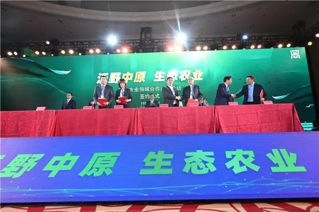 豫沪农业领域合作在上海启动,牧原再签约100万头生猪项目大单