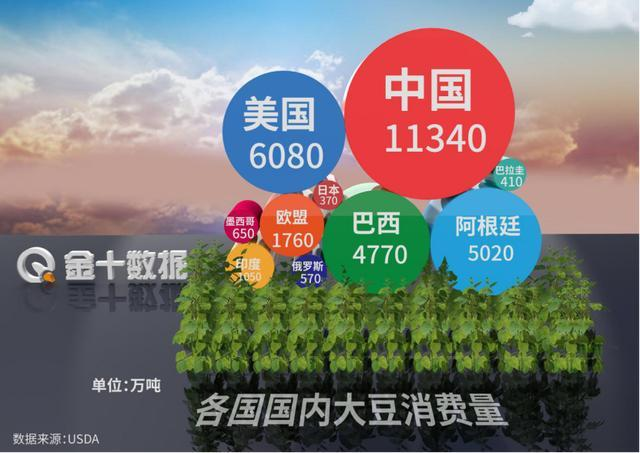 历史性一幕出现!对中国出口5050万吨大豆后,巴西准备进口美豆?