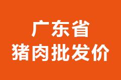 2021年02月25日广东省各市区白条猪肉批发均价行情走势报价