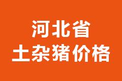 2020年12月23日河北省各市区土杂猪生猪价格行情走势报价