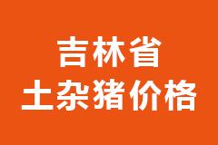 2020年12月23日吉林省各市区土杂猪生猪价格行情走势报价