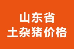 2020年12月23日山东省各市区土杂猪生猪价格行情走势报价