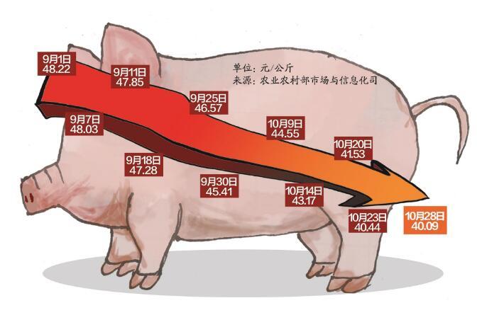湖北:武汉猪肉价格半年降了三成 猪肉岔着吃离我们还远吗