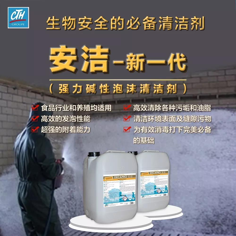 强力泡沫清洁剂在猪场的应用,给你推荐一款!