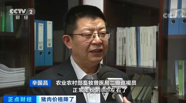 农业农村部畜牧兽医局二级巡视员辛国昌