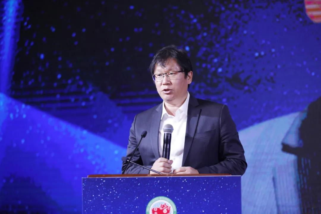 中国畜牧业协会智能畜牧分会刘强德秘书长主持