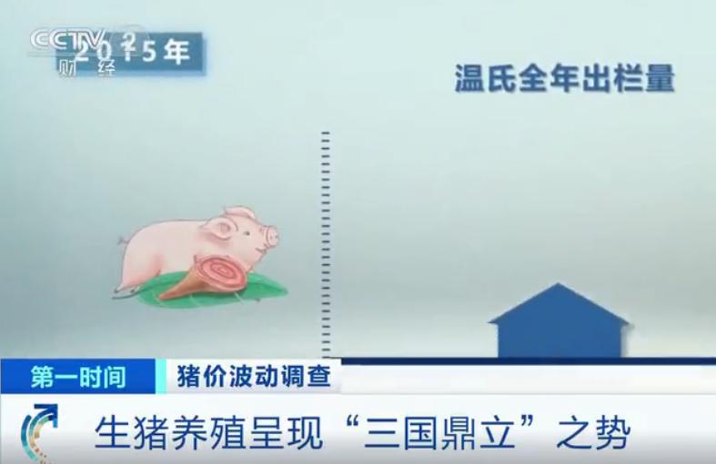 """生猪养殖呈现温氏、牧原、新希望""""三国鼎立""""之势"""