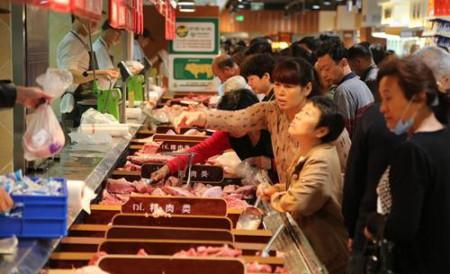 商务部:上周猪肉批发价格每公斤43.55元,上涨2.9%