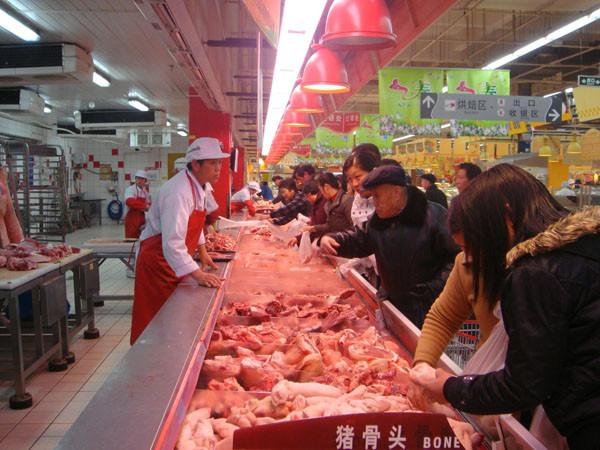上海市在各区设立482个平价猪肉专柜,菜价得按批发价卖