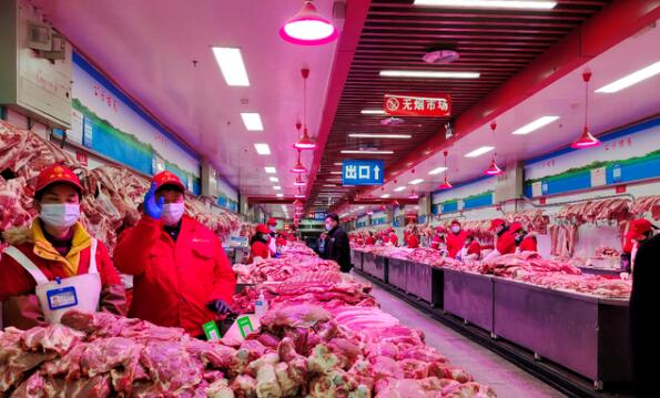"""北京:节后降幅达36%!新发地市场猪肉批发价格重回""""10元+""""每斤"""