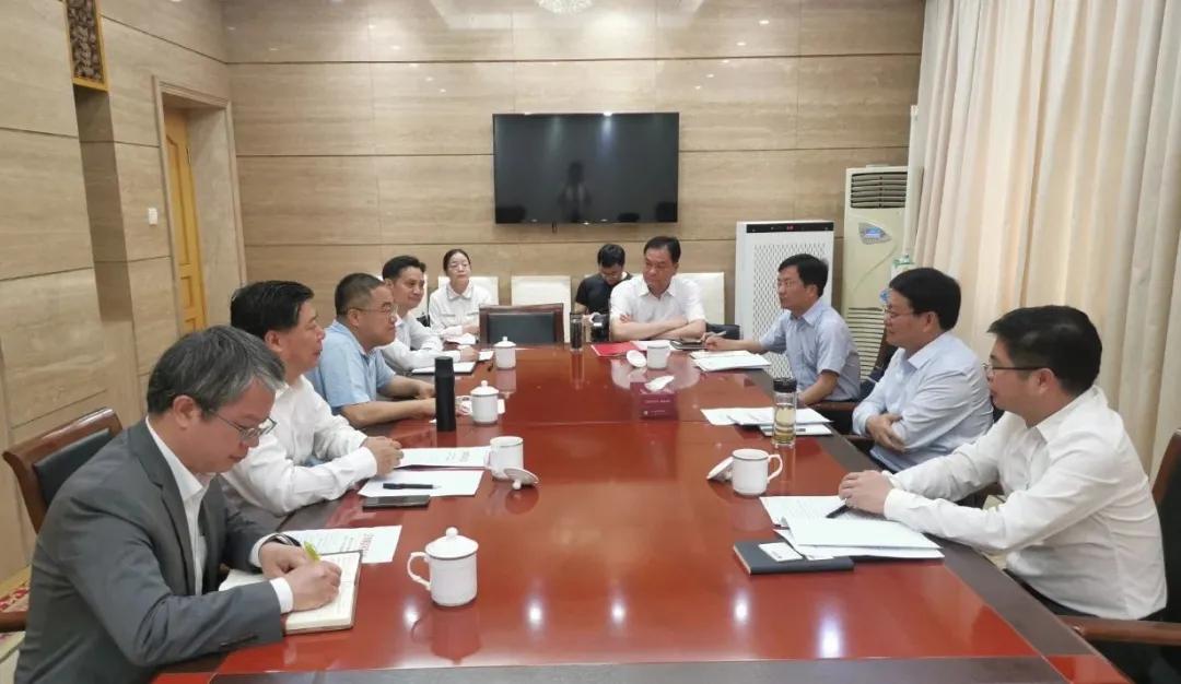 南昌万广明市长接见林印孙董事长:正邦要加大产业布局,再创发展奇迹!