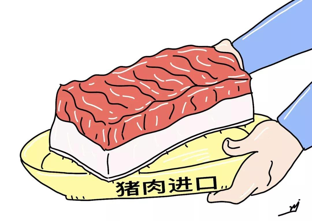 我国肉类进口纷纷下滑!猪肉进口仅为55万吨