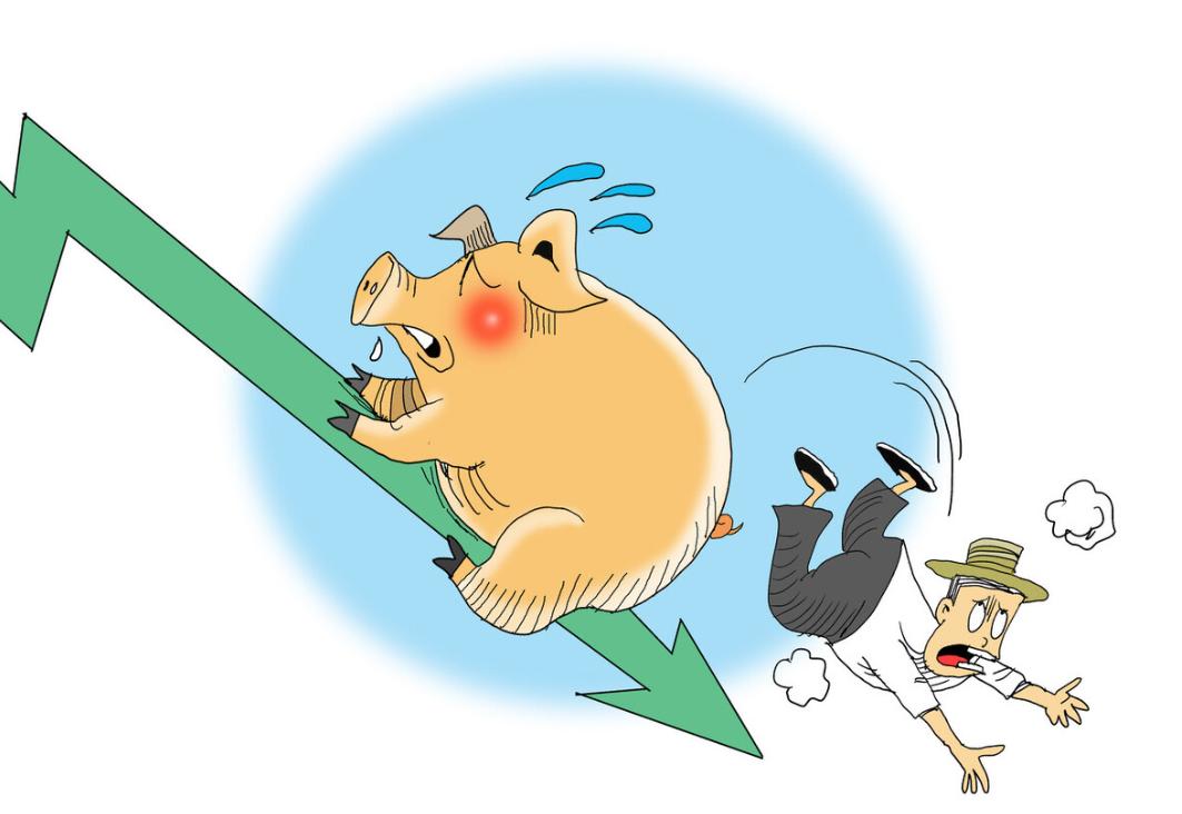国家统计局:6月中旬生猪(外三元)价格环比降12%