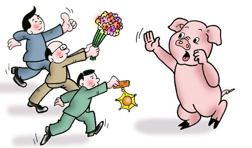 "CPI涨幅回落 猪肉""保供稳价""政策效果渐显,猪肉价格迎来反弹!"