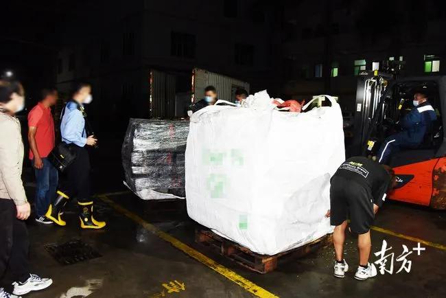 水陆合力围捕!广州警方截获走私冻肉55吨,9名疑犯被抓,涉案金额500多万元