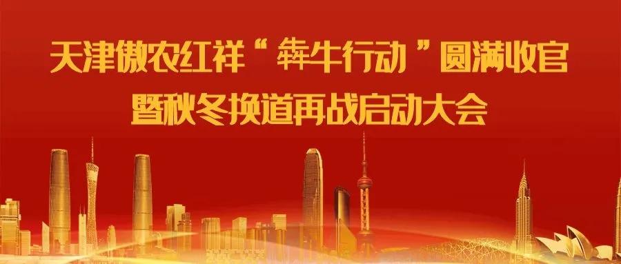 """天津傲农红祥""""犇牛行动""""圆满收官,砥砺奋进,秋冬换道再战"""