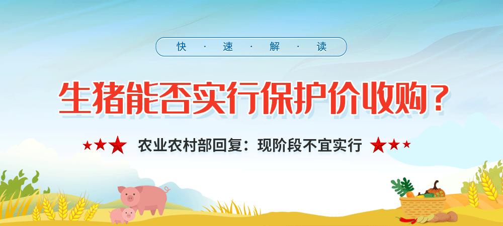 农业农村部:加快形成稳产保供长效机制 促进生猪产业平稳健康发展