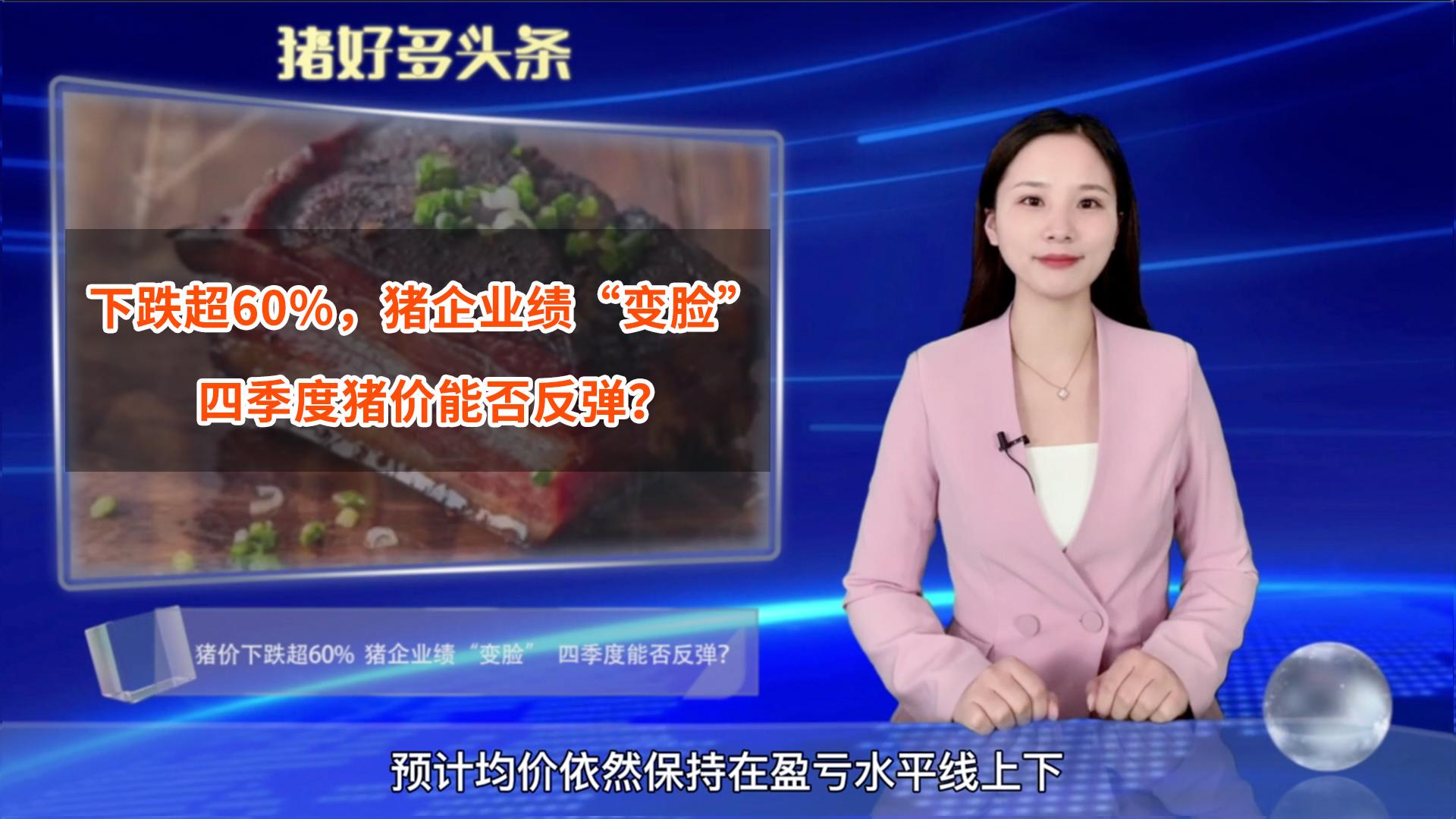 """生猪价格下跌超60%!养猪企业业绩""""变脸"""",四季度猪价能否反弹?"""